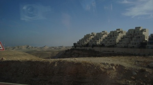 Illegal settlement east of Jerusalem
