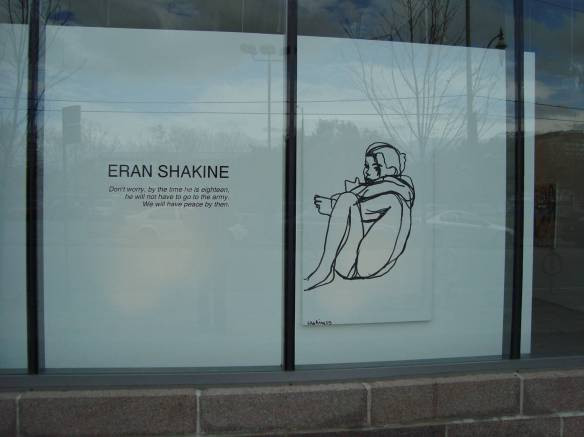 Eran Shakine. Julie M. Gallery.Toronto - Oct. 2009 - Photo: Sherry Ann
