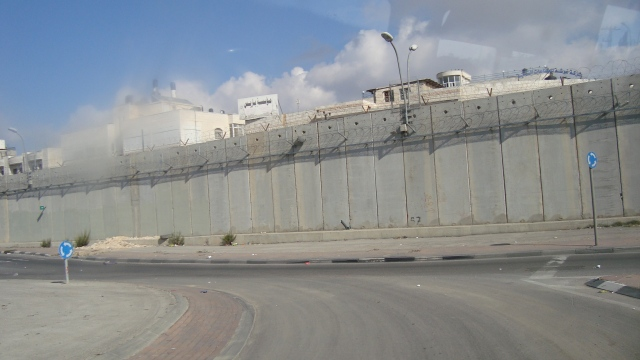 Israeli Separation Wall dividing East Jerusalem