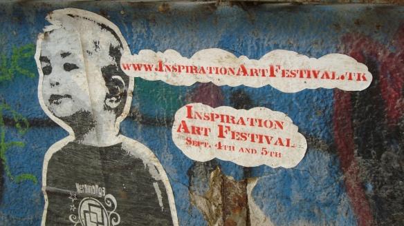 Wall art in TelAviv: Inspiration Art Festival_30 Dec. 2010 - Photo: Sherry Ann